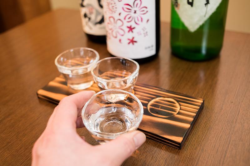 三種利き酒