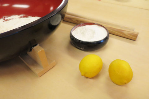 レモン切り