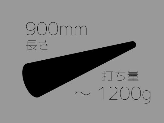 麺棒900mm