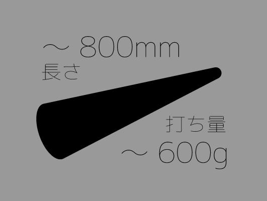 麺棒~800mm