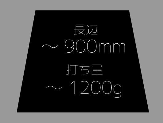 麺台~900mm