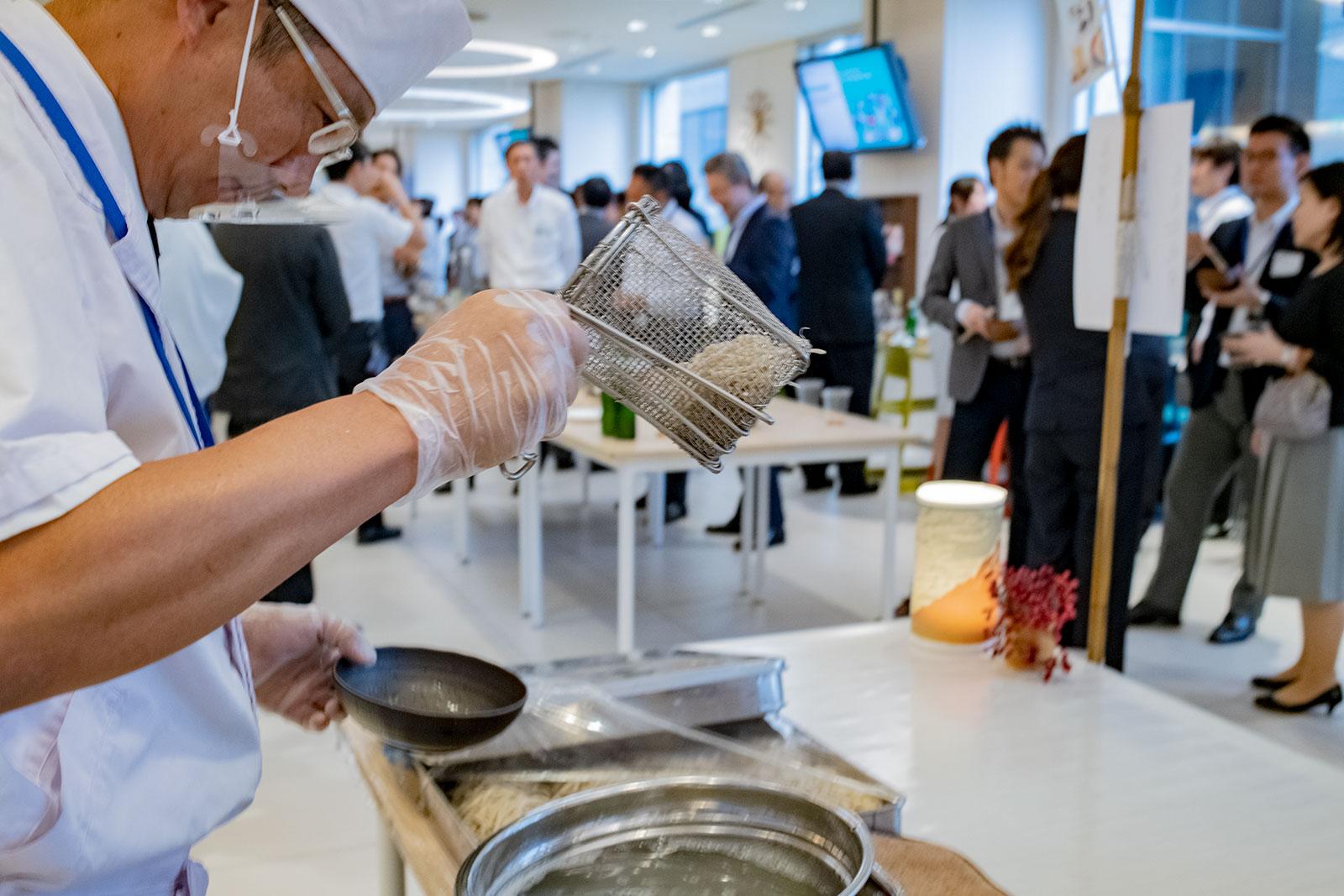 蕎麦ケータリング