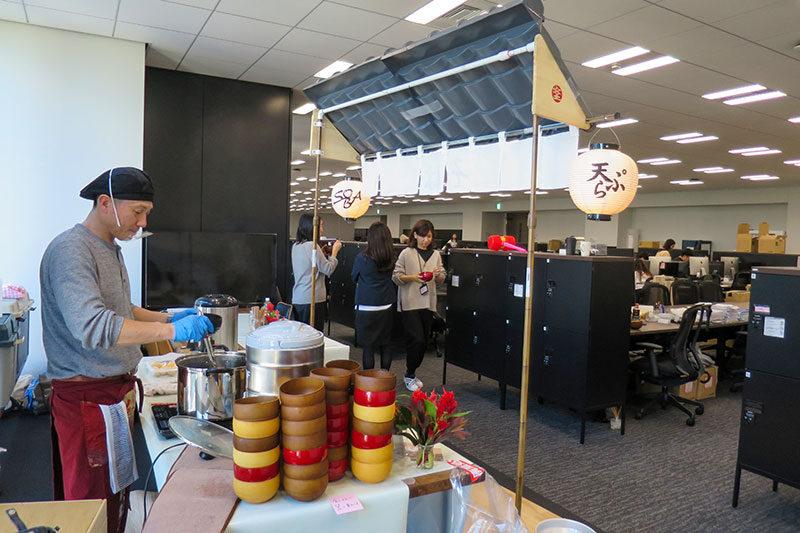 オフィス引っ越し蕎麦