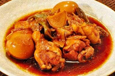 鶏のすっぱ煮